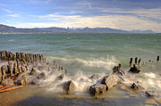 Breakers Photos - Lake Constance by Joana Kruse