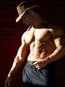 Photoart Photos - Male Muscle Art America Marius by Jake Hartz