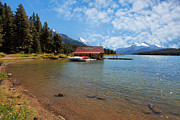 Nick Jene - Maligne Lake Boat House...