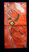 Africa Ceramics Ceramics - Mama - tile by Gloria Ssali