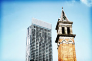 Stadium Design Photo Posters - Manchester - Beetham Tower Poster by Hristo Hristov