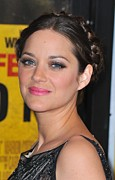 2010s Hairstyles Framed Prints - Marion Cotillard At Arrivals Framed Print by Everett