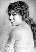 Ev-in Framed Prints - Mary Pickford, Ca. 1918 Framed Print by Everett