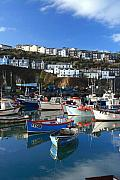 Kernow Photos - Mevagissey by Carl Whitfield