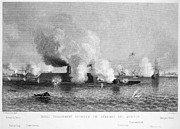Ironclad Prints - Monitor And Merrimack Print by Granger
