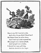 1833 Prints - Mother Goose, 1833 Print by Granger
