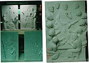 New York City Reliefs - 5 New Mysteries Of The Rosary by Patrick Rankin