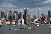 State - New York City Skyline by Frank Romeo