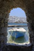 Cannon Framed Prints - Paros - Cyclades - Greece Framed Print by Joana Kruse