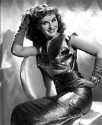 Long Gloves Framed Prints - Paulette Goddard, Paramount Pictures Framed Print by Everett