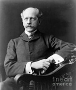 Percival Framed Prints - Percival Lowell, American Astronomer Framed Print by Science Source