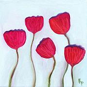Kelly  Parker - 5 Poppies