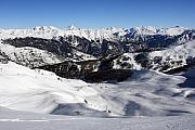 Chevalier Photo Framed Prints - Serre Chevalier in the French Alps Framed Print by Pierre Leclerc