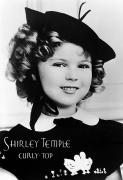 Statesman Framed Prints - Shirley Temple (1928- ) Framed Print by Granger