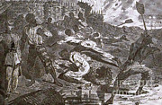 Slaves Prints - Siege Of Vicksburg, 1863 Print by Photo Researchers