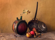 Still Life Pyrography Acrylic Prints - Still life Acrylic Print by Vasil Vasilev