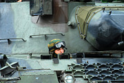 Component Photos - Tank Driver Of A Leopard 1a5 Mbt by Luc De Jaeger