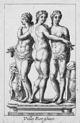 Borghese Posters - Three Graces Poster by Granger