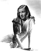 Evening Gown Photo Metal Prints - Veronica Lake, Portrait Metal Print by Everett
