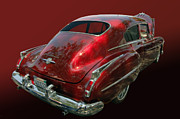 Bill Dutting Art - 50 Olds Fastback by Bill Dutting
