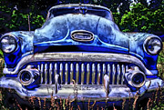 Photographers Forest Park Posters - 50s Buick Eight Poster by Corky Willis Atlanta Photography