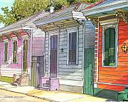 New Orleans Drawings - 51 by John Boles