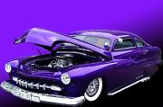 Purple Ford Photos - 51 Mercury by Jim  Hatch