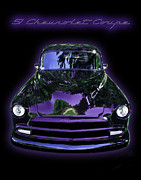 Reflections Posters - 51Chevrolet Coupe Poster by Peter Piatt