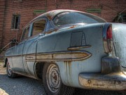 Blue Chevy Prints - 52 Chevy Bel Air Print by Jane Linders