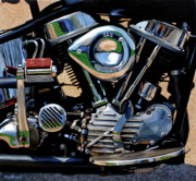Machinery Originals - 52 Panhead by Murad Sayen