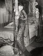Negligee Metal Prints - Silent Film Still Metal Print by Granger