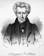 Lithograph Framed Prints - Andrew Jackson (1767-1845) Framed Print by Granger