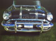 Classic Car Pastels - 56 Pontiac by Sharon Quarles