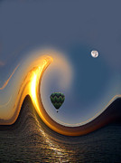 Baloon Framed Prints - 568 Framed Print by Peter Holme III