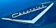 57 Chevy Bel Air Emblem Print by Mark Dodd