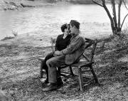 Couples Prints - Silent Film Still: Couples Print by Granger