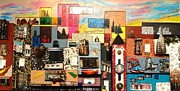 57th Street Kaleidescope Print by Robert Handler