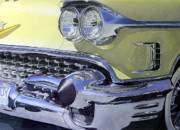 Caddy Painting Prints - 58 Caddy Print by Mike Tinsley