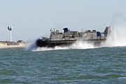 A Landing Craft Air Cushion Prepares Print by Stocktrek Images