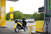 Message Art Art - A Petrol Or Fuel Station by Jaak Nilson