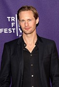 Tribeca Film Festival Posters - Alexander Skarsgard At Arrivals Poster by Everett