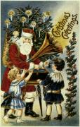 19th Century Photos - American Christmas Card by Granger
