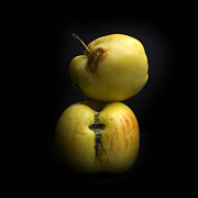 Healthy Eating Art - Apples by Bernard Jaubert
