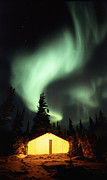 Light Emission Framed Prints - Aurora Borealis Framed Print by Chris Madeley
