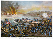 Army Of The Potomac Framed Prints - Battle Of Fredericksburg Framed Print by Granger