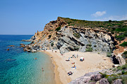 Vacation Photos - Beach in Legrena by George Atsametakis