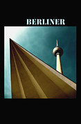 Television Mixed Media - Berlin TV Tower by Falko Follert