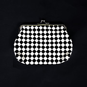 Handbag Prints - Black And White Print by Joana Kruse