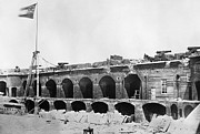 Rubble Photos - Civil War: Fort Sumter by Granger