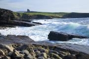 Atlantic Beaches Prints - Classiebawn Castle, Mullaghmore, Co Print by Gareth McCormack